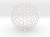 Geosphere Ball 15cm Holes Thicker 2 3d printed