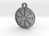 Escarbuncle Pentacle 3d printed