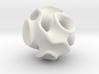 Spherical Gyroid 3d printed