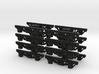 On18/On20 Passenger trucks - long wheelbase  3d printed