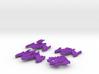 JemHadar Mini Fleet 3d printed