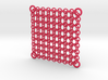 Chain Maille Wall Panel 3d printed