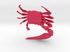 Articulated Fiddler Crab (Uca pugilator) 3d printed