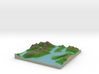 Terrafab generated model Sat Sep 28 2013 01:07:34  3d printed