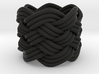 Turk's Head Knot Ring 6 Part X 6 Bight - Size 0 3d printed