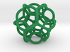 Soap Bubble Dodecahedron (S) 3d printed
