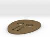 Friday the 13th Hockey Mask Pin 3d printed