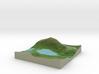 Terrafab generated model Fri Oct 11 2013 14:37:06  3d printed