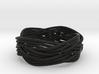 Turk's Head Knot Ring 4 Part X 4 Bight - Size 12 3d printed