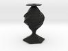 twisted flower  vase 3d printed