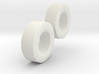 "1:64 scale 15-22.5 ""Cement"" Wagon Tire Pair 3d printed"
