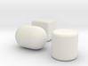 the prims footstools collection 3d printed