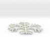 Amazing Snowflake Doily 3d printed