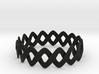 Turk's Head Knot Ring 2 Part X 16 Bight - Size 26. 3d printed