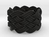 Turk's Head Knot Ring 6 Part X 9 Bight - Size 7 3d printed