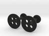 Button Cufflink Set 3d printed