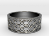 Infinity Band Ring Size 7 3d printed