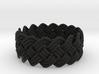 Turk's Head Knot Ring 4 Part X 16 Bight - Size 11. 3d printed