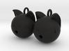 Kitten Earrings 3d printed