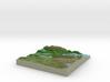 Terrafab generated model Mon Nov 11 2013 13:14:21  3d printed