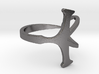 Size 9 Open Ankh Ring 3d printed