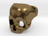 Bronze Skull Ring by Bits to Atoms 3d printed