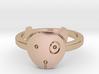 Doggie Midi Ring 3d printed