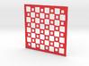 Mosaic Chess Board 3d printed