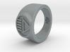 Black Death GL Ver 2 Ring (Sz's 5-15) 3d printed