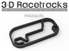 Indianapolis  3d printed Track without run off