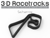 Sachsenring 3d printed Track with no run off areas
