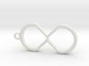 Creative-X Infinite Possiblities Keychain  3d printed