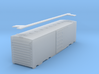 N-Scale 1938 PS-0 Boxcar (In Development) 3d printed