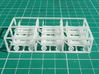 REA Carts x 12 3d printed The mat is marked at 10mm [400 thou] squares