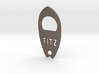 Personalize-able Surfboard Bottle Opener 3d printed