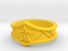 WW Tiara Ring Sz 5 3d printed