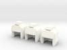 Robo Helmets: Triplet Set (11mm Diameter) 3d printed