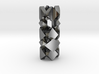 pendant twisted squares 2 3d printed