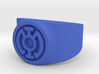 Blue Hope GL Ring Sz 13 3d printed