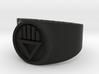 Black Death GL Ring Sz 13 3d printed