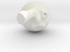 Moon With Rocket In Eye 2 3d printed