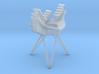 Cassini 1/20th Main Dish Antenna Multi-Feed 3d printed