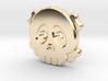 Cute Skull And Bones shirt button 3d printed