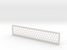 Honeycomb Bookmark 3d printed