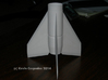 Black Brant ll Fin unit BT-55 for 24mm motors 3d printed Accurately scaled airfolied fins