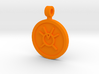 Orange Avarice Pendant 3d printed