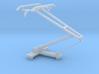 HO scale LRV pantograph 3d printed
