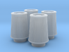 1/24 K&N Cone Style Air Filters TDR 4630 3d printed