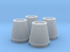 1/24 K&N Cone Style Air Filters TDR 5113 3d printed