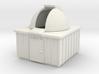 N Scale Observatory 3d printed